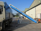 Mushroom Emptying Conveyor Height Adjustable